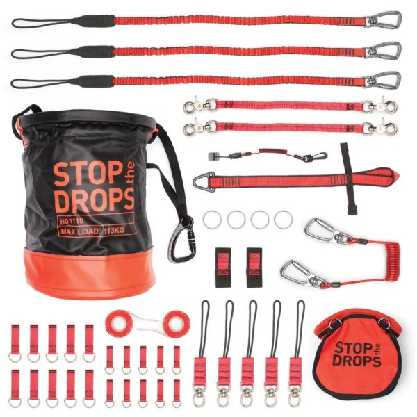 40 Tool Tether Kit With Bull Bag And Bolt Safe Pouch