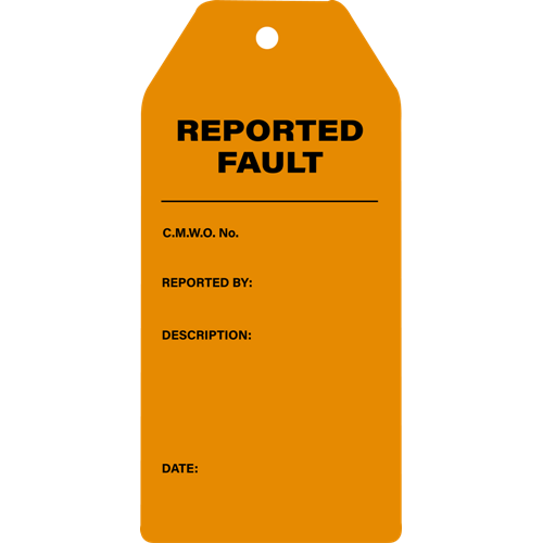 Defect ReportedFault