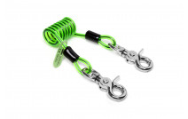 NLG Short Coiled Tool Lanyard Quick Clip