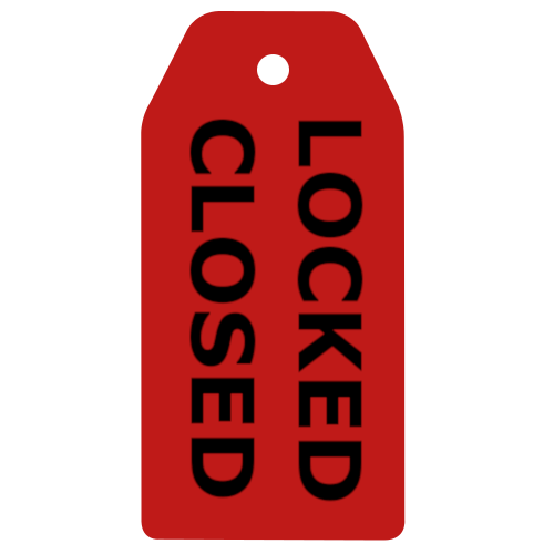 OpenCloseTags LockedClosed