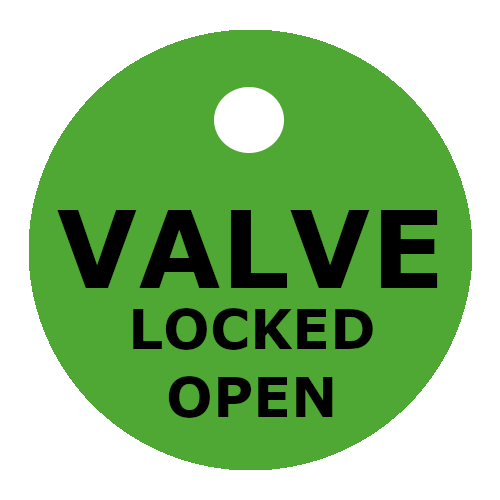 OpenCloseTags ValveOpen